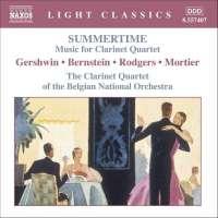 SUMMERTIME - Music for Clarinet Quartet