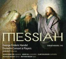 Handel: Messiah (Dublin Version 1742)
