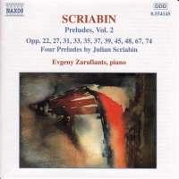 SCRIABIN: Preludes Vol.  2