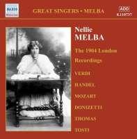 Nellie Melba - The 1904 London Recordings