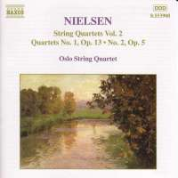 NIELSEN: String Quartets vol. 2