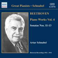 Beethoven: Piano Works Vol. 4 [Recorded 1932-34]