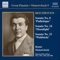 Beethoven: Piano Sonatas Nos. 8, 14, 21