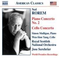 ROREM: Piano concerto no 2