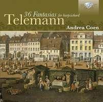 Telemann: 36 Fantasies for Harpsichord