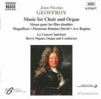 GEOFFROY: Music for Choir & Organ