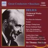 Delius: Orchestral Works Vol.1