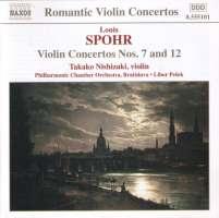 SPOHR: Violin Concertos nos. 7 & 12