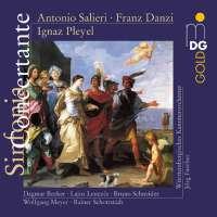 Salieri/Danzi/Pleyel: Concertante for Flute, Clarinet and Orchestra