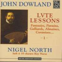Dowland: Lute Lessons vol. 1