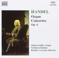 Handel: Organ Concertos, Op. 4, Nos. 1-6