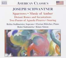 SCHWANTNER: Sparrows, Music of Amber