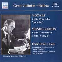 Mozart / Mendelssohn: Violin Concertos