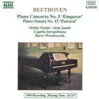 Beethoven: Piano Concerto No. 5; Piano Sonata No. 15