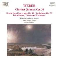 WEBER: Clarinet Works op. 34