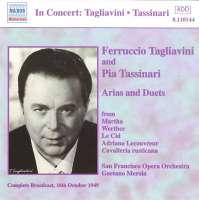 TAGLIAVINI, Ferruccio / TASSINARI, Pia: Arias and Duets (1949)