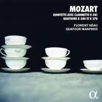 Mozart: Quintette avec clarinette & Quatuors