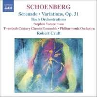 SCHOENBERG   Serenade, Variations Op. 31