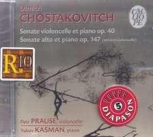 Shostakovich: Sonates pour violoncelle