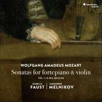 Mozart: Sonatas for fortepiano and violin vol. 1