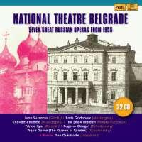 National Theatre Belgrade - Seven great Russian Operas from 1955