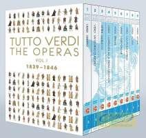 Tutto Verdi - The Operas Vol. 1, 1839-1846 Oberto, Un giorno di regno, Nabucco, I Lombardi, Ernani, I due Foscari, Giovanni d´Arco, Alzira, Attila