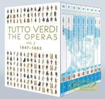 Tutto Verdi - The Operas Vol. 2, 1847- 1853 Macbeth, I masnadieri, Il corsaro, La Battaglia di Legnano, Luisa Miller, Stiffelio, Rigoletto, Il Trovatore, La Traviata