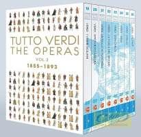 Tutto Verdi - The Operas Vol. 3: I vespri siciliani, Simon Boccanegra, Un ballo in maschera, La forza del destino, Don Carlo, Aida, Otello, Falstaff