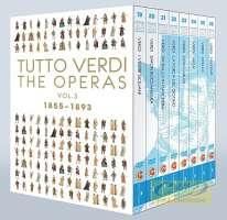 Tutto Verdi - The Operas Vol. 3, 1855-1893 I vespri siciliani, Simon Boccanegra, Un ballo in maschera, La forza del destino, Don Carlo, Aida, Otello, Falstaff