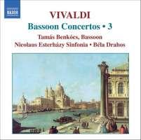 VIVALDI: Bassoon Concertos (Complete), Vol. 3