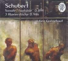 """Schubert: Sonate """"Fantaisie""""; 3 Klavierstücke"""