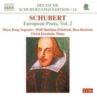 SCHUBERT: European poets vol. 2