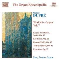 DUPRE: Works for Organ vol. 7