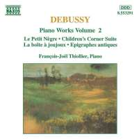 DEBUSSY: Piano Works Vol. 2