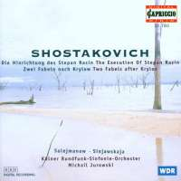 Shostakovich;: The Execution of Stepan Razin, Two Fabelsafter Krylo