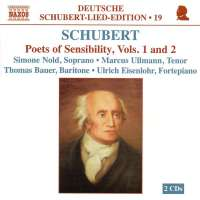 SCHUBERT: Poets of sensibility vol. 1 & 2