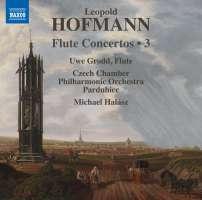 Hofmann: Flute Concertos Vol. 3