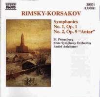 RIMSKY-KORSAKOV: Symphonies nos. 1 & 2
