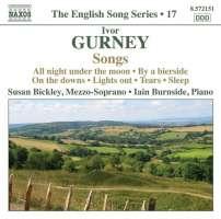 GURNEY: Songs (English Song Series Vol. 19)