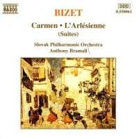 BIZET: Carmen Suites Nos. 1 and 2, L'arlesienne Suites Nos. 1 and 2