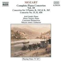 Mozart:Piano Concertos 7, 10 & 15