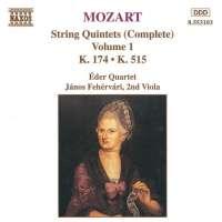 MOZART: String Quintets Vol. 1, K. 174 and K. 515