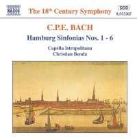 BACH C.P.E.: Hamburg Sinfonieas