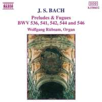 Bach: Preludes and Fugues BWV 536, 541, 542, 544, 546