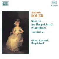 SOLER: Sonatas for Harpsichord Vol. 2
