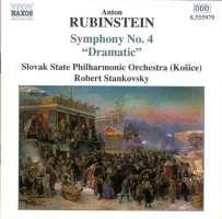 "RUBINSTEIN: Symphony No. 4, ""Dramatic"""