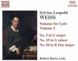 WEISS: Sonatas for Lute Vol. 2
