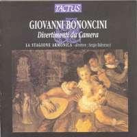 Bononcini: Divertimenti Nr.1-8 for Chamber Orchestra