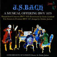 Bach: A Musical Offering BWV 1079