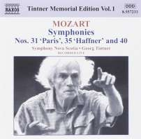 MOZART: Symphonies Nos. 31, 35 and 40